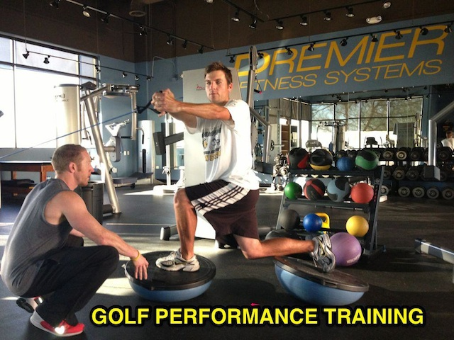 Golf Fitness at Premier Fitness Systems