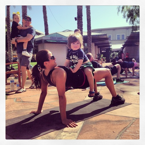 Premier Fitness Systems Bootcamp at kierland Commons
