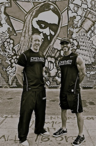 Co-Owners of Premeir Fitness Systems Brandon Harris and Greg Mc Lean