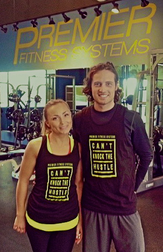 Mix Diskerud Training at Premier Fitness Systems