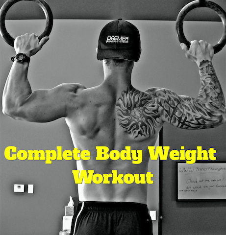 Complete Body Weight Workout Program