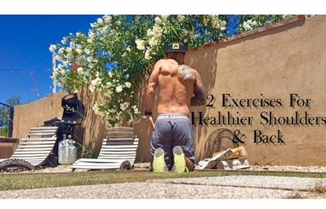 Basic Exercises For better Shoulder and Back Health