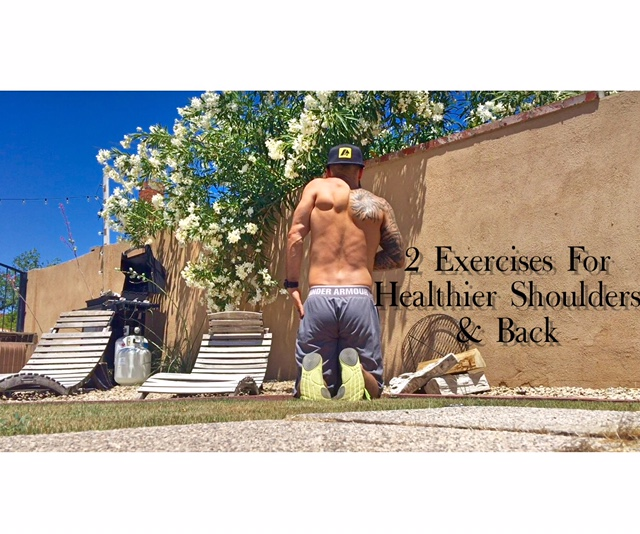 exercises for back and shoulder pain