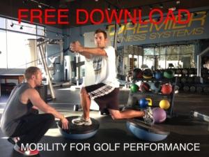 Golf Mobility Training