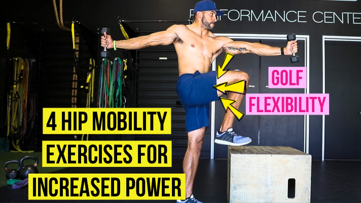 Golf Fitness 4 exercises for better power and movility